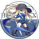 サークル R.P.G. 同人缶バッジ Fate/Grand Order ☆『謎のヒロインX/illust:ドア』★【ネコポス可】