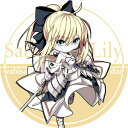 サークル R.P.G. 同人缶バッジ Fate/Grand Order ☆『セイバー・リリィ/illust:ドア』★【ネコポス可】
