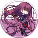 サークル R.P.G. 同人缶バッジ Fate/Grand Order 第2弾 ☆『スカサハ/illust:ドア』★【ネコポス可】