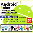 ガシャポン アンドロイド ロボットカラーズマスコット を買ってみた