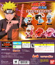 バンダイ NARUTO-ナルト-疾風伝 ナルトチャクラスイング 【九尾】入り5種セット