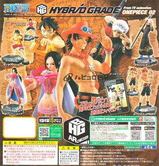 Four kinds of sets with Bandai HYBRID GRADE ONE PIECE- one piece - 02. premium rhea