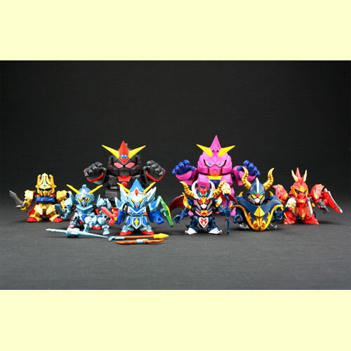 Bandai SD Gundam gashapon senshi NEXT SAGA01 Lacroix Isamu who & legends of Giants