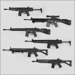 【1S】タカラトミーアーツTHE銃リアルミニ1stコレクション全6種セット