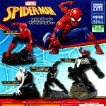 【1S】タカラトミーアーツMARVELスパイダーマンカプセルスタチュー全4種セット