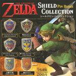 ゼルダの伝説シールドピンバッジコレクション全6種