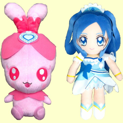 I can't wait! Pretty cure Super DX plush 2 set of 2