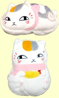 Natsume friends book nyanko-news-snow day almost! lump-plush pouch set of 2