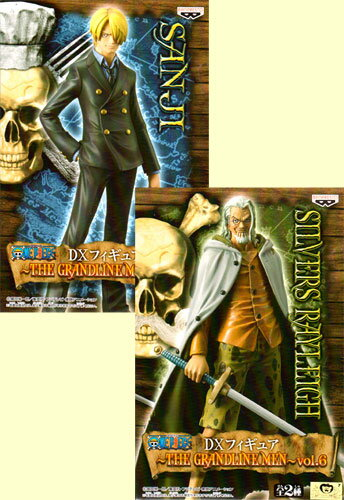 ONE PIECE-ワンピース- DXフィギュア〜THE GRANDLINE MEN〜vol.6 全2種セット