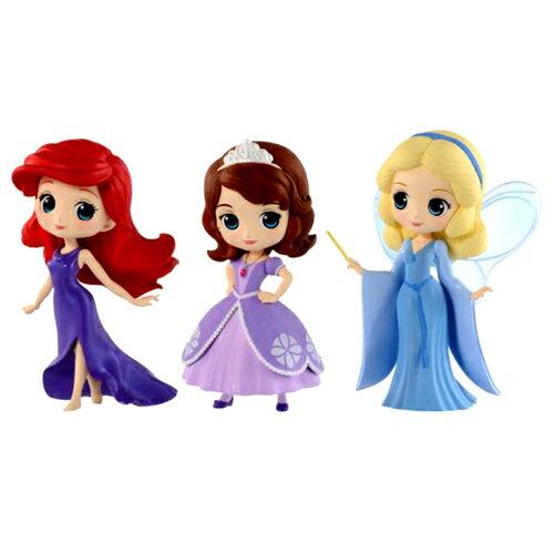 コレクション, フィギュア  Qposket petit DisneyCharacters ArielSofiaBlue Fairy 3