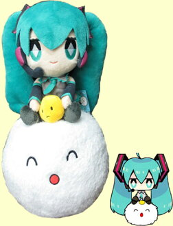 Hatsune miku x dumpling you XL Jumbo plush