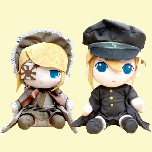 VOCALOID hatsune miku senbon cherry Rin & Len stuffed all 2 pieces