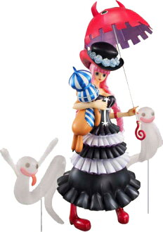"Megahouse excellent model ONEPIECE-one piece - P.O.P portrait of pirates ""Sailing Again"" pelona (new world Ver.) PVC"