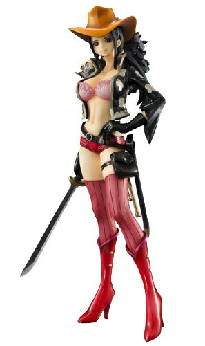 "Megahouse excellent model ONE PIECE-one piece - P.O.P portrait of pirates ""EDITION-Z"" Nico Robin PVC"