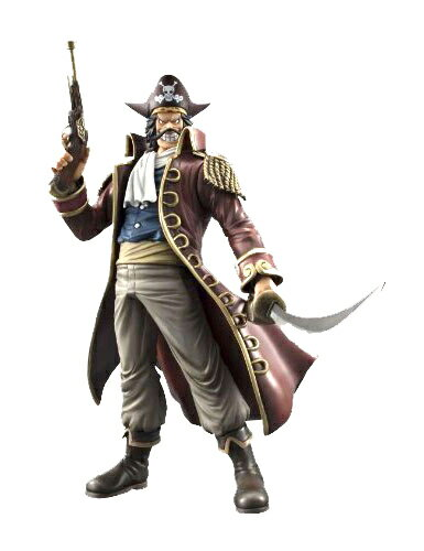 Megahouse excellent model ONE PIECE-one piece - P.O.P portrait-of-pirates neo-DX goal-D-Roger PVC