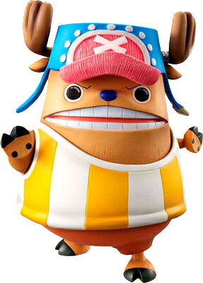 "Megahouse excellent model ONE PIECE-one piece - P.O.P portrait of pirates ""Sailing Again"" Tony chopper soft power enhanced Kung Fu points PVC complete"