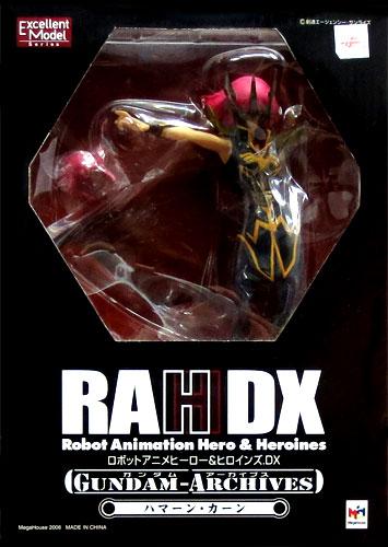 Megahouse excellent model RAH DX Gundam arcaibs mobile suit ZZ Gundam Haman, Khan PVC