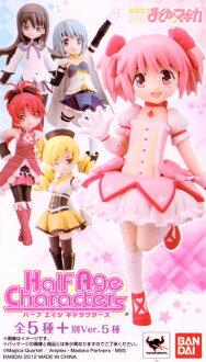 Bandai half-age characters puella Magi Madoka Magica another Ver ☆... go-set of 5