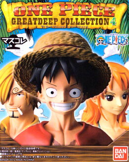 Bandai mask collection ONE PIECE-one piece - great deep collection 4 5 type assortment set