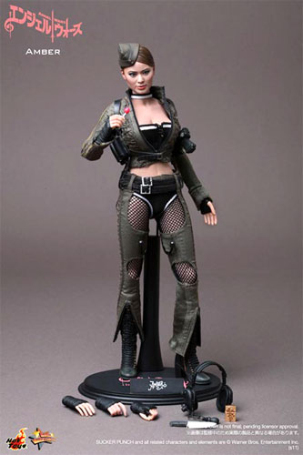 Amber Angel wars hot toys movie masterpiece 1 / 6 scale fully poseable figure