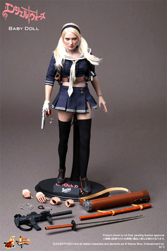 """Hot toys movie masterpiece """"angel wars"""" baby Dole 1/6 scale figure skating"""