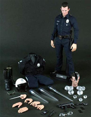 Hot toys movie masterpiece [Terminator 2] t-1000 1 / 6 scale figure