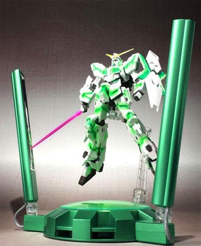Bandai ROBOT spirit Unicorn (awakening version) GLOWING STAGE set