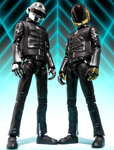 "Two Bandai S.H. Figuarts ""Daft Punk"" Thomas Bangalter & Guy-Manuel de Homem-Christo set H25.11"