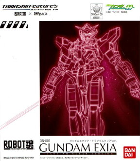 And Bandai ROBOT spirit Gundam ExIA TRANS am clear ver....