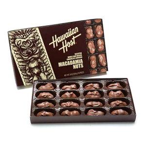 【ハワイアンホースト公式店】マカデミアナッツチョコレートTIKI 8oz(16粒)|ハワイ お土産