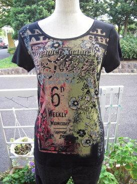 skinny minnie 半袖 Tシャツ 1 アメリカ製 おしゃれ カッコイイ Mサイズ