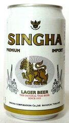 ラガービールの最高峰!シンハー(SINGHA) 330ml缶(24入/ケース)