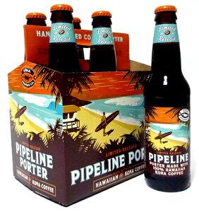 冬季限定のKonaコーヒービール!【Kona Beer】コナビール パイプラインポーター 355ml 6本セット