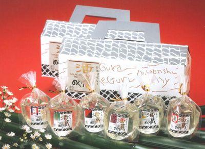 日本酒ゼリー酒蔵めぐり/パティスリーソワール 栃木のおすすめお土産