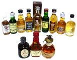 国産ウイスキー(サントリー、ニッカ)ミニチュアボトル11本セット
