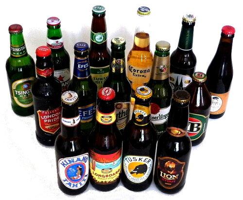 世界のビール15か国飲み比べセット