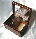 ♪お好きな曲で製作! 標準18弁ミニ宝石箱オリジナルオルゴール【楽ギフ_包装選択】【楽ギフ_のし宛書】 1