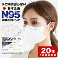 【KN95マスク】米国N95レスピレーター同等の高性能不織布マスクが欲しい!おすすめは?