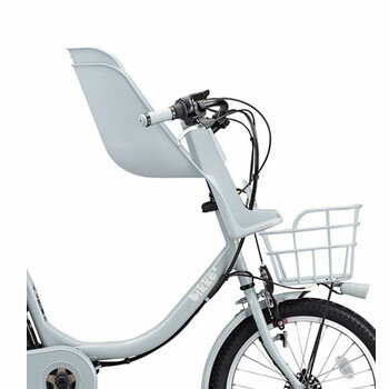 ブリヂストンbikke(ビッケ)専用フロントチャイルドシート 前子供乗せ※シートクッションは別売りです。※単品購入の場合は本体10,390円 送料別です。【b_mob】【b_gri】