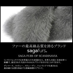 日本製SAGAフォックスファーマフラーー(F3011)