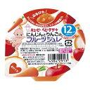 コクミンドラッグ 楽天市場店で買える「キユーピー FJー5 にんじんとりんごのフルーツジュレ 【70g】  対象月齢:12ヵ月頃から (キユーピー株式会社)【ベビー食品/お菓子】」の画像です。価格は152円になります。