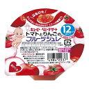 コクミンドラッグ 楽天市場店で買える「キユーピー FJー6 トマトとりんごのフルーツジュレ 【70g】  対象月齢:12ヵ月頃から (キユーピー株式会社)【ベビー食品/お菓子】」の画像です。価格は152円になります。