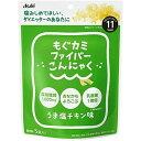 もぐカミファイバーこんにゃく うま塩チキン味 【4g×5袋入】(アサヒグループ食品)