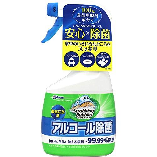 スクラビングバブル アルコール除菌あちこち用 【400ml】(ジョンソン)