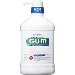 サンスター 薬用ガム(G・U・M) デンタルリンス ノンアルコール ポンプ 960ml
