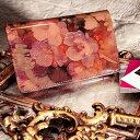 【FRUTTI】名刺ケース レディース 絵画のようなレザーで仕立てる名刺ケースJolly Alice(ジョリー アリス)名刺入れ 名刺ケース レディース ピンク エナメル FRUTTI DI BOSCO フルッティ ディ ボスコ 356-1135-22-8054