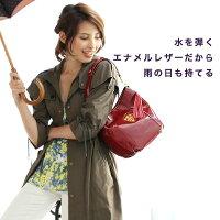 【ATAO】上戸彩さんがドラマで愛用エナメルレザーのワンマイルバッグCandy(キャンディエナメル)