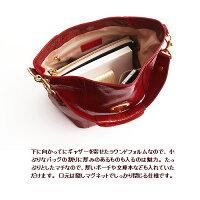 【ATAO】上戸彩さんがドラマ「半沢直樹」で使用エナメルレザーのワンマイルバッグCandy(キャンディエナメル)