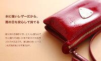 【ATAO】(アタオ)お財布の機能を備えたクラッチバッグにもなるお財布ポシェット(ウォレットバッグ)booboo(ブーブー)水に強いエナメルレザーの軽量バッグ