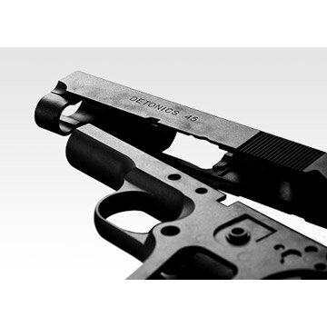 東京マルイデトニクス.45ガスブローバックハンドガン/ガスエアガンGMガバメント45オートサバゲー銃